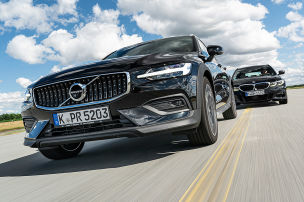 BMW 3er Touring vs. Volvo V60 Cross Country