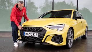 Erste Fahrt im neuen Audi S3