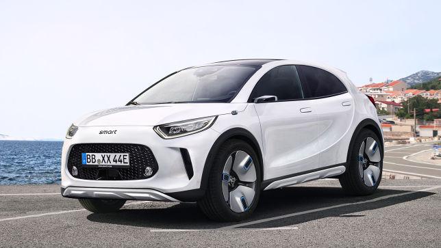 Smart plant für 2022 sein erstes SUV