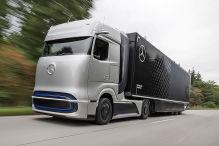 Mercedes GenH2 (2023): Wasserstoff, LKW, Volvo, 1000 km