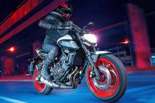 Die mittelgroße Yamaha MT-07 ist ein ganz heißer Tipp