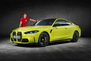 Neue BMW M3 und M4 mit Drift-Coach