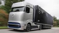 Mercedes-Lkw mit Wasserstoffantrieb