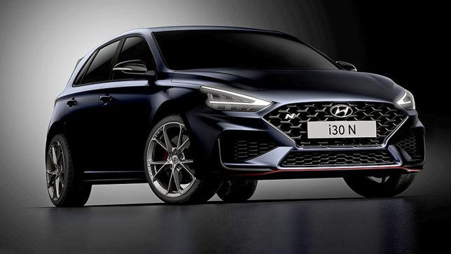 Der neue Hyundai i30 N Facelift wird über den Nürburgring gejagt