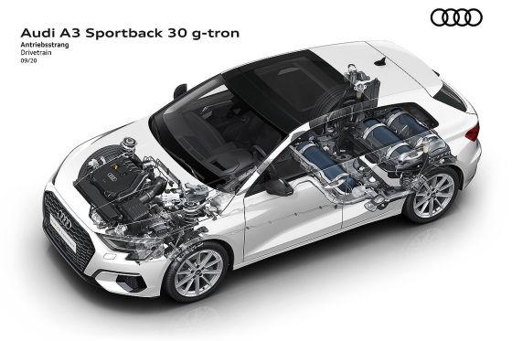 Audi bringt auch den neuen A3 wieder als g-tron mit Erdgasantrieb