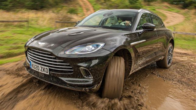 Erste Fahrt im Aston Martin DBX