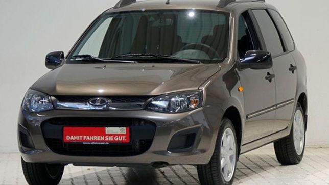 Praktischer Kombi von Lada zum Schnäppchenpreis