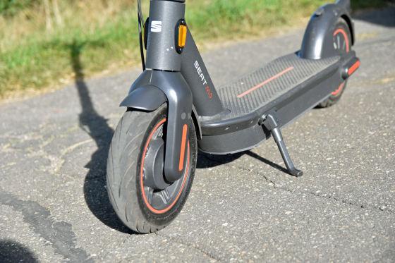 Seat E-Scooter ist ein komfortables Schwergewicht