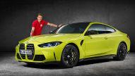 Sitzprobe im neuen BMW M4