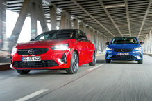 Opel Corsa 1.2 DI Turbo, Opel Corsa e: Benziner gegen Elektro