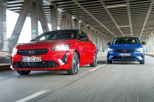 Opel Corsa 1.2 DI Turbo vs. Corsa-e
