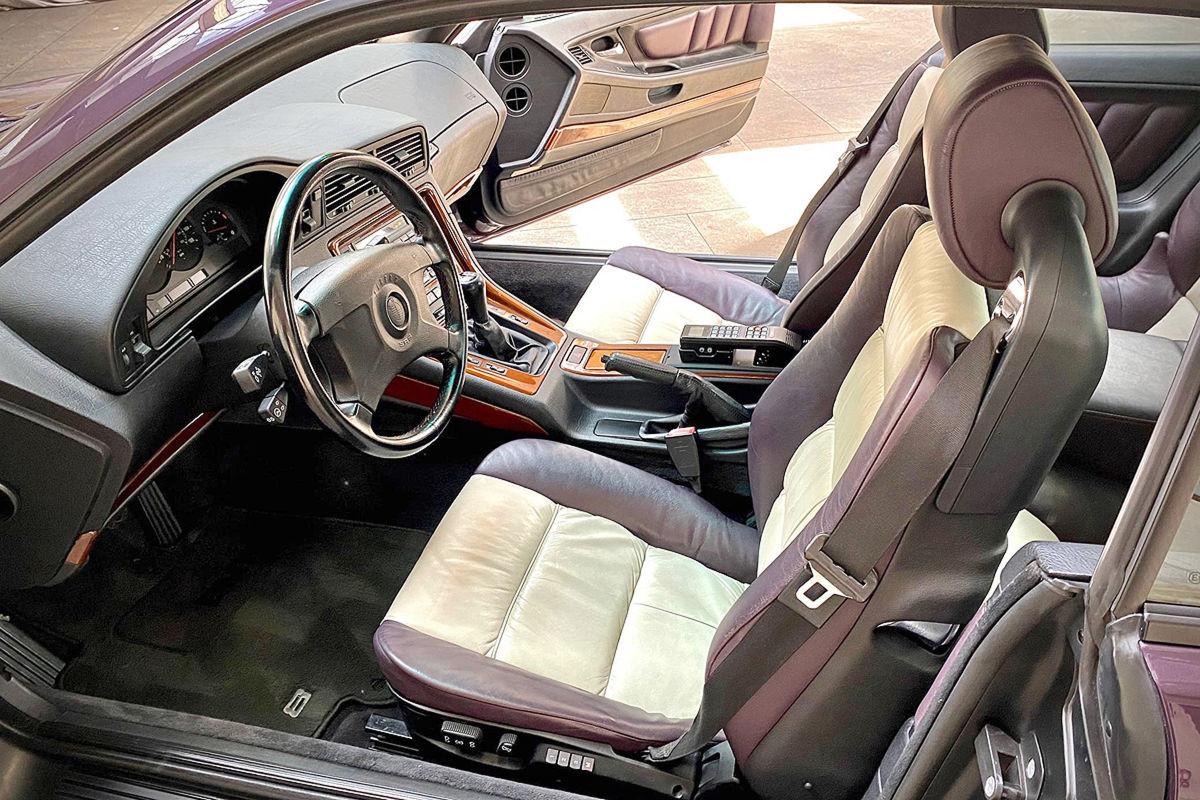 BMW 850CSi wird versteigert