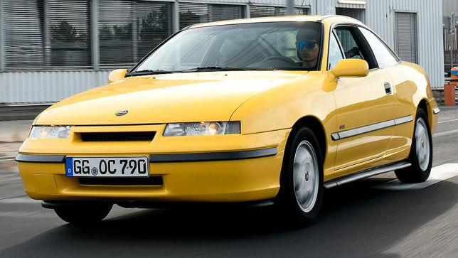 Klassik-Tour im Opel Calibra