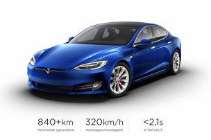 Tesla Model S Plaid mit Mega-Reichweite
