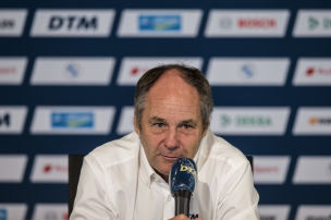 DTM: Gerhard Berger im Interview