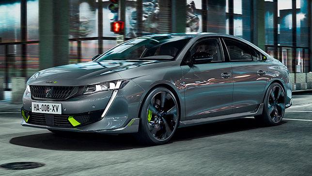 Neue Sport-Version des Peugeot 508 mit 360 PS