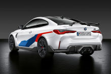 BMW M3, M4 (2021): M Performance-Parts, Klappenauspuff