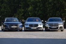 Die neue S-Klasse im Vergleich der Luxuslimousinen