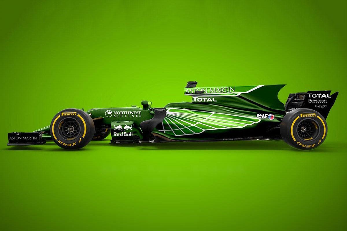 Formel 1 Mögliche Aston Martin F1 Designs Bilder Autobild De