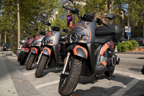 Seat Mó Dienste (2020): Sharing, Roller, Scooter