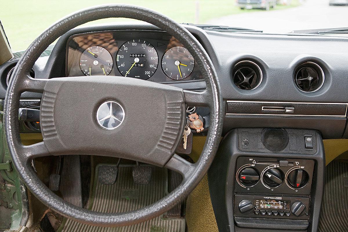 """Der alte Benz des """"Bergdoktors"""""""