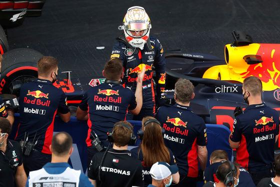 Red Bull profitiert vom Max-Faktor
