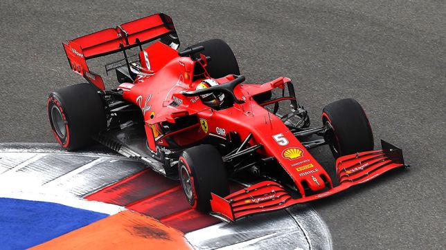 Formel 1: Vettel beim GP Russland