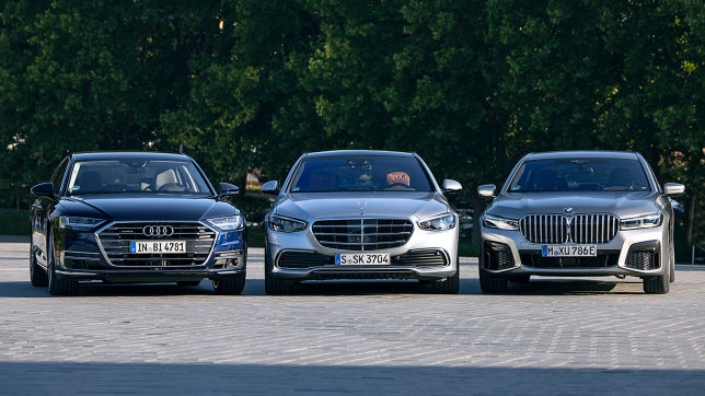 Luxusklasse-Limousinen im Test