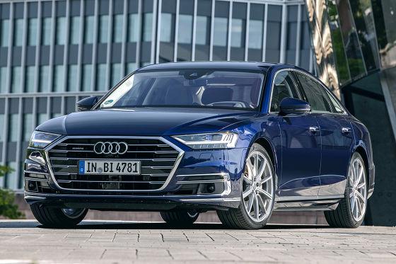 Die neue Mercedes S-Klasse trifft auf Audi A8 und BMW 7er