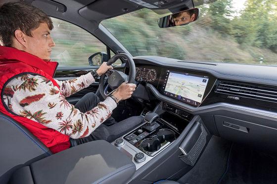So fährt der 462 PS starke VW Touareg R mit Plug-in-Hybrid