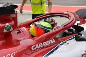 Formel 1: Trainings-Debüt für Schumi jr.