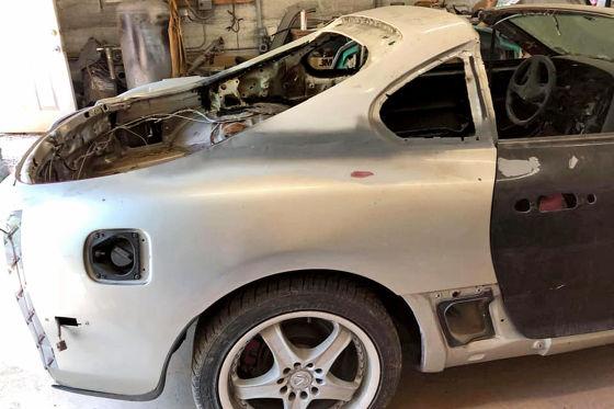 So entstand der weltweit wohl einzige Toyota Supra Roadster