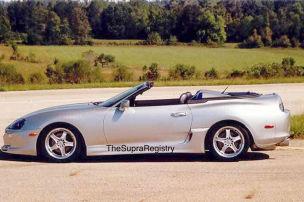 Toyota Supra MK4 (1995): Roadster-Umbau