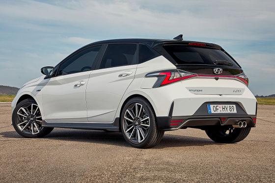 Der Hyundai i20 N Line gibt einen Vorgeschmack auf den i20 N