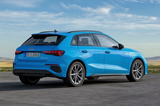 Neuer Audi A3 mit Plug-in-Hybrid und eigenen E-Scheinwerfern