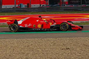 Formel 1: Mick im Ferrari