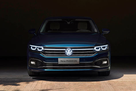 VW Phideon (2020): China, Luxuslimousine