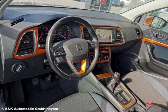 Auffälliger Seat Ateca mit guter Ausstattung für unter 16.000 Euro