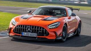 Auf die Piste im AMG GT Black Series
