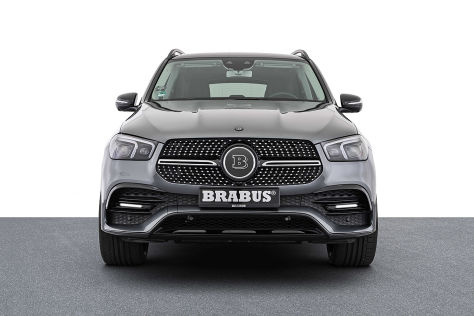 Mercedes GLE 350de Tuning: Brabus PowerXtra