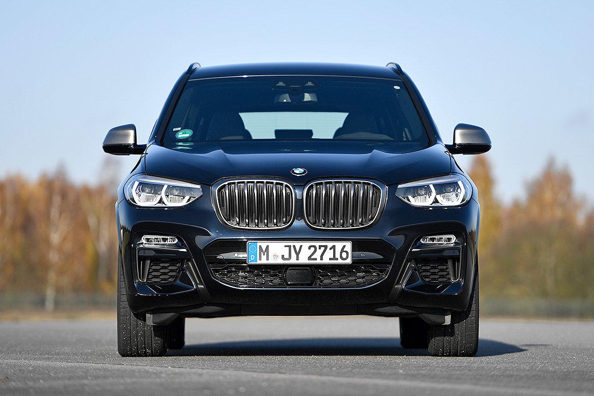 Dauertest BMW X3 M40d