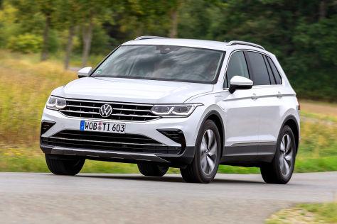 VW Tiguan eHybrid (2020): Erste Testfahrt im Plug-in-Tiguan - autobild.de
