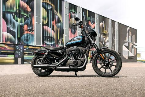 Harley-Davidson Sportster: Verkaufsstopp, Abgas, Euro 5
