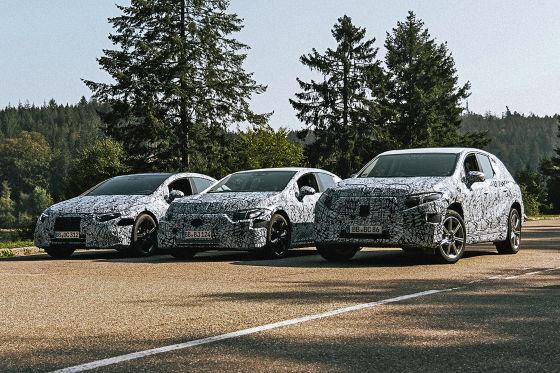 """Mercedes erweitert """"EQ"""" zur eigenen Modellfamilie"""