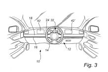 Volvo lässt flexibles Lenkrad patentieren
