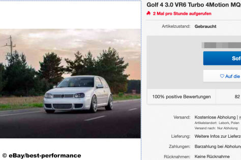 VW Golf 4 3.0 VR6 Turbo 4Motion MQ500 600PS
