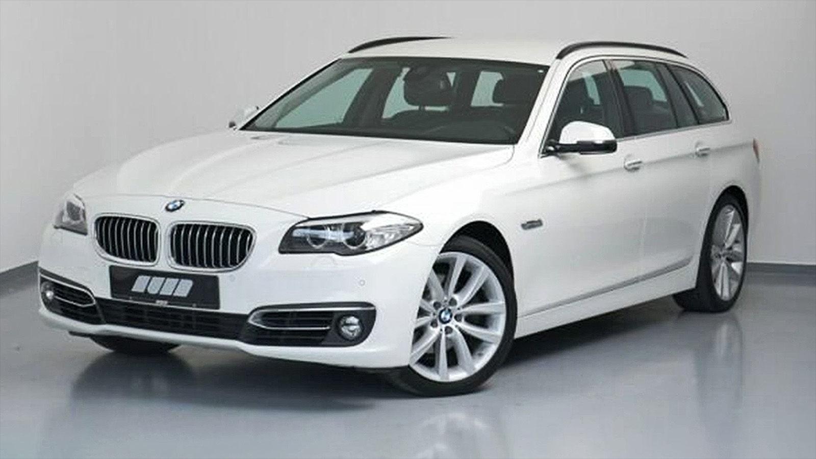 BMW 520d Touring Luxury Line (2014): gebraucht - Preis ...