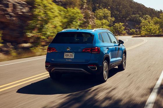 Volkswagen präsentiert mit dem Taos ein neues Kompakt-SUV für die USA