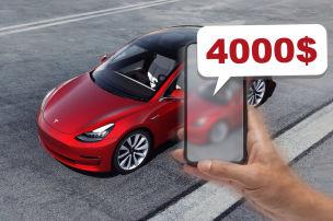 Smartphone kauft 4000-Dollar-Extra