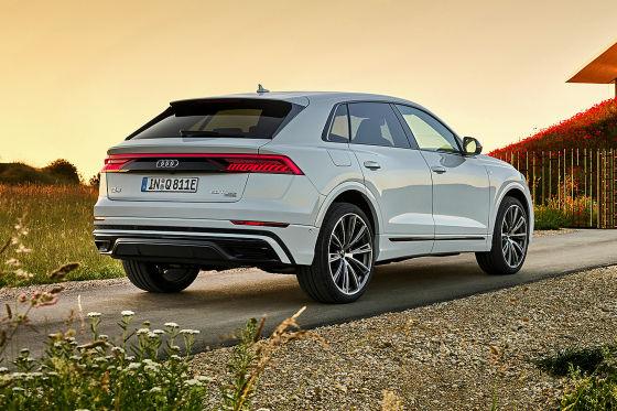 Audi bringt den Q8 als Plug-in-Hybrid, er soll nur 2,8 Liter verbrauchen
